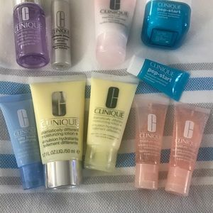 Clinique Travel Sizes of Cleansers & Creams😊